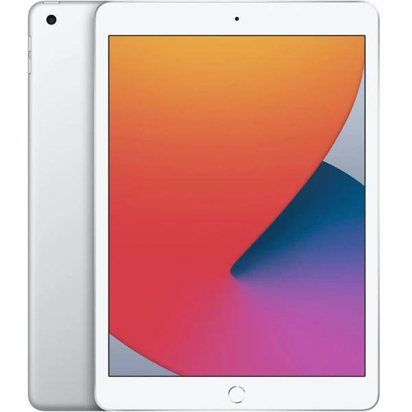 "Apple 10.2-inch iPad Wi-Fi - 8:e generation - surfplatta - 128 GB - 10.2"" IPS (2160 x 1620) - silver"