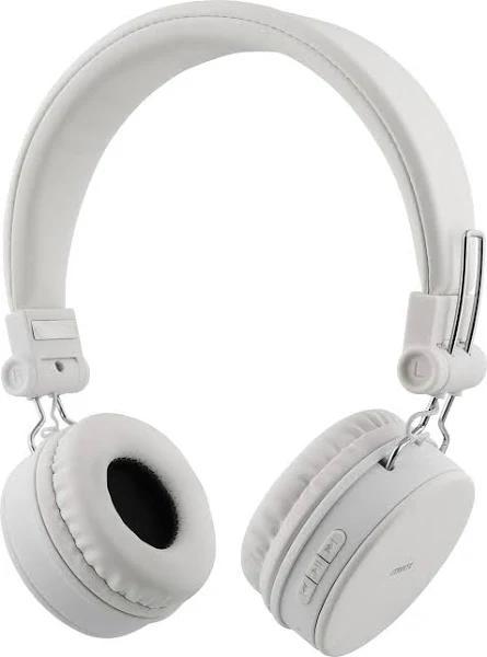 STREETZ Bluetooth-hörlurar med mikrofon, vit