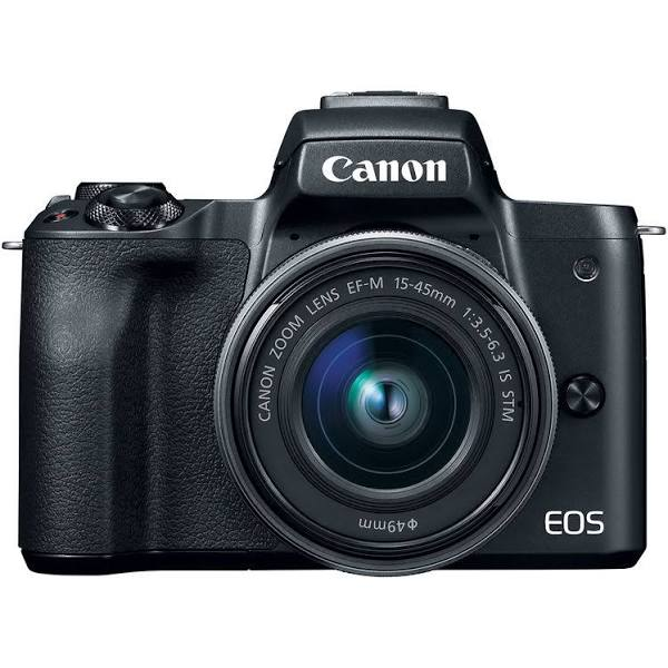CANON EOS M50 Mirrorless Camera with EF-M 15-45 mm f/3.5-5.6 IS STM Lens