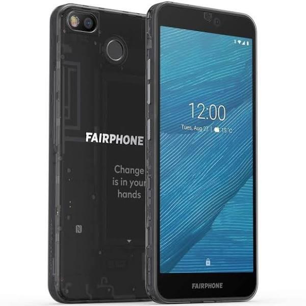 Fairphone 3 64gb Dual-sim Mörk Genomskinlig