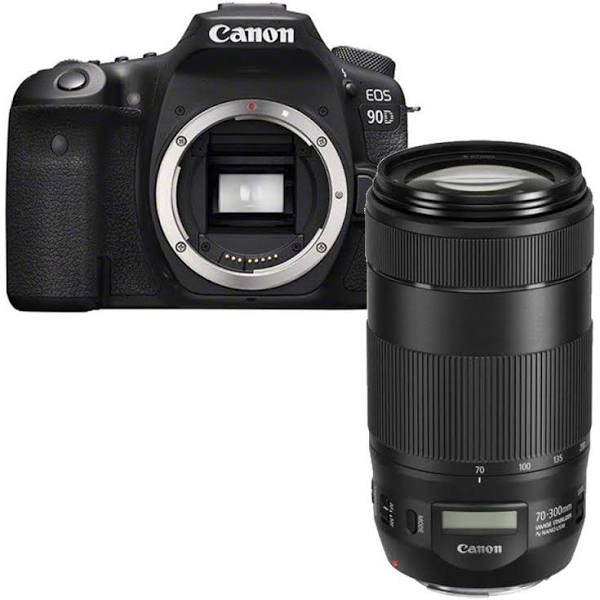 Canon EOS 90D + Canon EF 70-300mm F/4-5.6 IS II USM