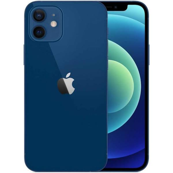 "Apple Iphone 12 - Smartphone - Dual-Sim - 5G Nr - 64 Gb - Cdma / Gsm - 6.1"" - 2532 X 1170 Pixlar (460 Ppi) - Super Retina Xdr Display (12 Mp Främre K"