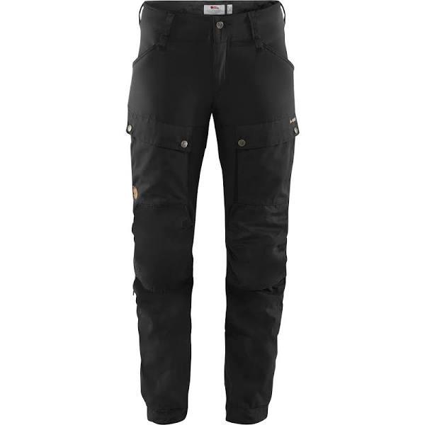 Fjällräven - Keb Trousers Women Short - 40 - Black