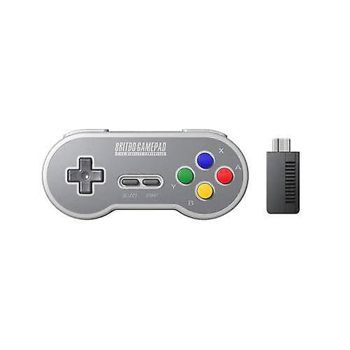 GHCD 8BitDo SN30 Gamepad Wireless Game Controller with 2.4G NES Receiver|Gamepads(Color buttons)