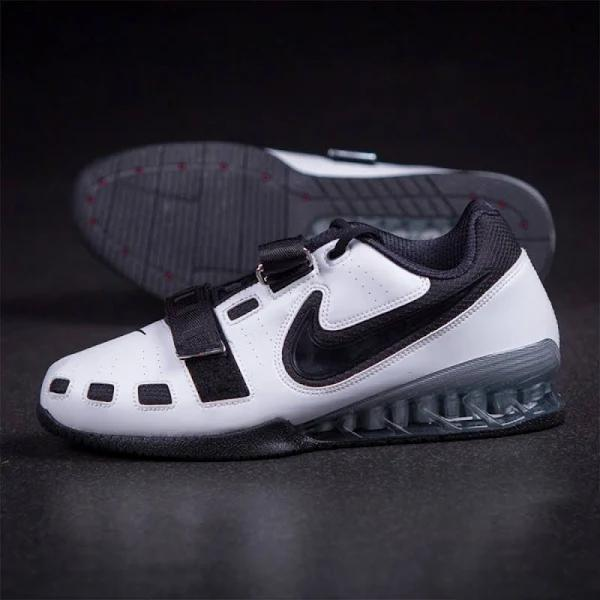 Man Shoes Nike Romaleos 2 - White - Black 11.5