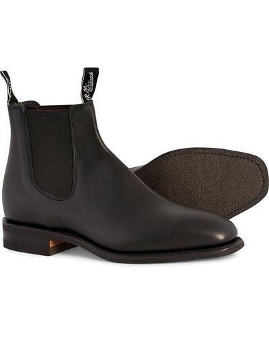 R.M.Williams skor / Storlek: UK11,5 - EU46,5 / R.M.Williams Blaxland G Boot Yearling Black