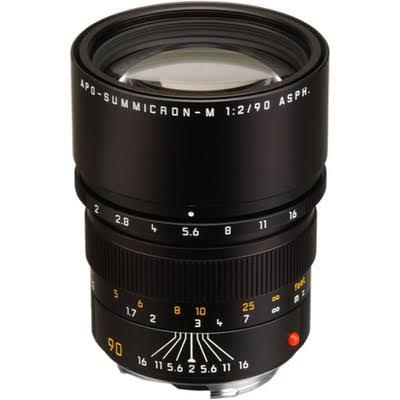 Leica APO-Summicron-M 90mm f/2 ASPH. Lens, ount Type, f/2.0, Finish 55mm