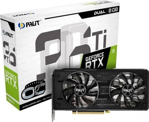 Palit GeForce RTX 3060 Ti Dual OC 8GB