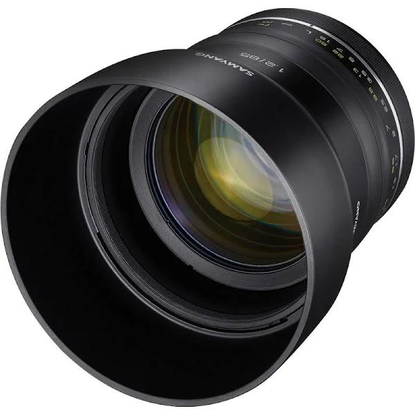 Samyang XP 85mm f/1.2 (Canon EF)