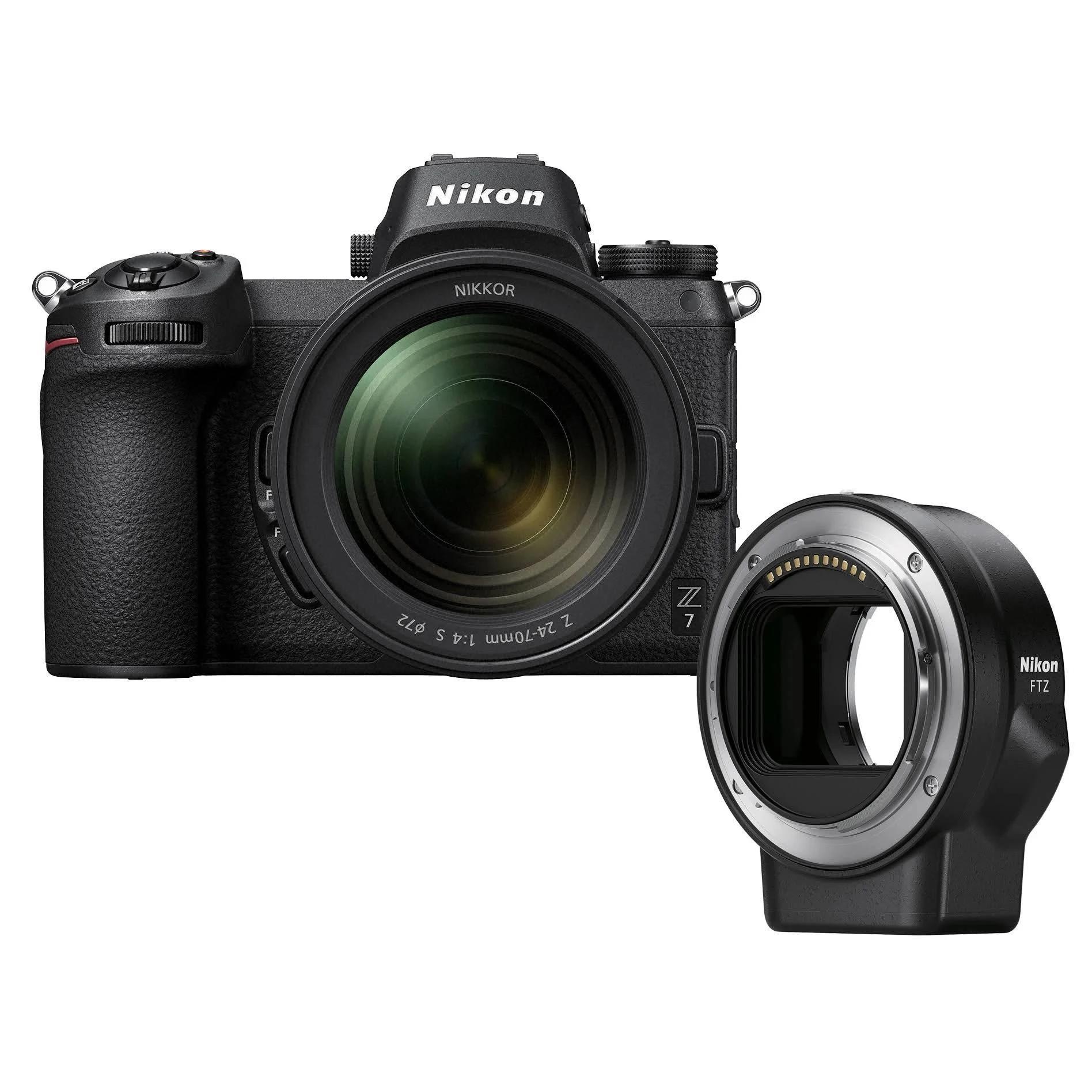 Nikon Z7 + Z 24-70/4 S + FTZ Adapter Kit