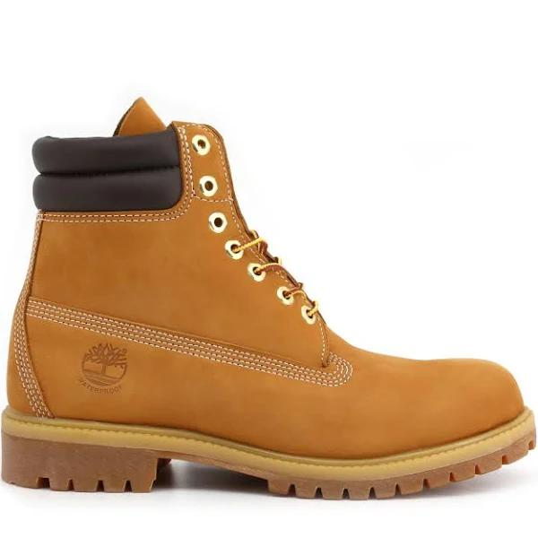 Timberland 6 in boot double collar wheat