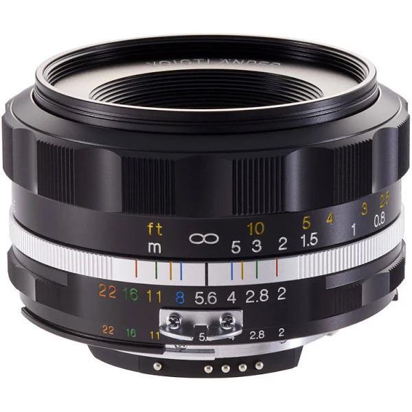 Voigtländer SLII-S 40mm f/2,0 Ultron Asperical svart