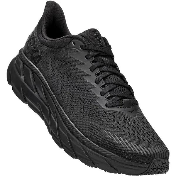 Hoka Clifton 7 Black / Black - Herr