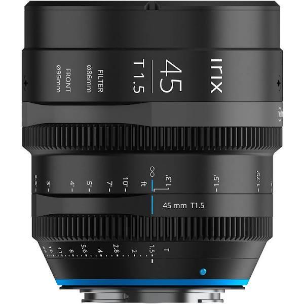 IRIX 45mm T1.5 Cine Objektiv för Canon RF (Fötter)