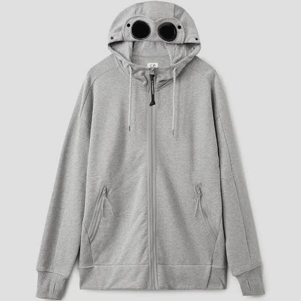 Hooded Open Sweatshirt M93 Grey Melange / L