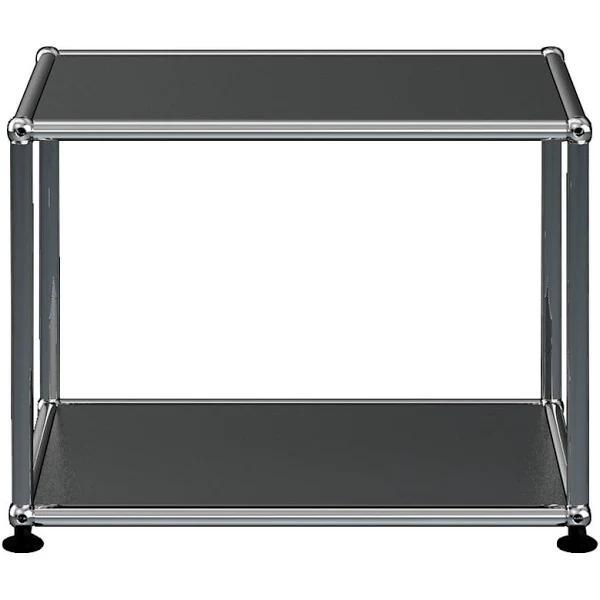 USM Haller - Side Table, 52.3 x 41.8 cm, graphite Black (RAL 9011)