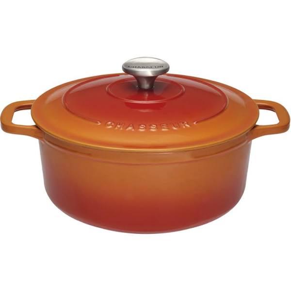 Chasseur Gryta Rund 4 L Ø 24 Cm Orange