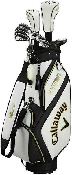 Callaway Warbird Mens Golf Set Right Hand Steel/Graphite