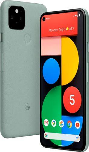 Google - Pixel 5 5G 128Gb - Sorta Sage Verizon - GA01956-US - 193575011721