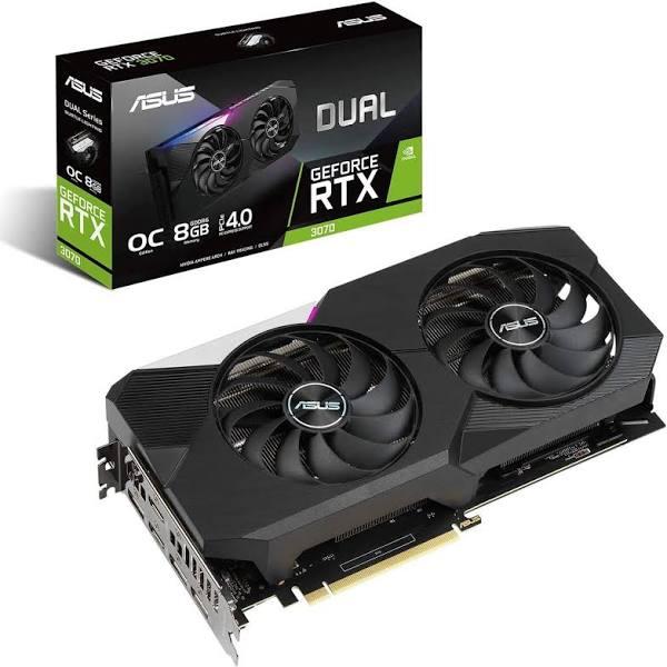 ASUS GeForce RTX 3070 8GB DUAL OC (Non-LHR)