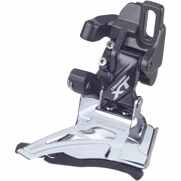 Shimano Deore XT M8025 Framväxel D Double-Top Pull Grå Framväxlar