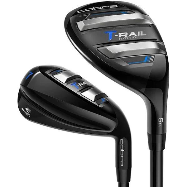 Cobra T-Rail Golf Iron/Hybrid Combo Set Graphite