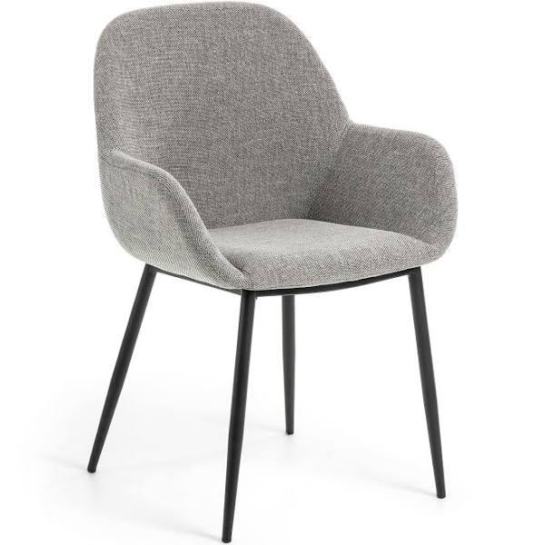 Dining chair grey - Modern - fabric - konna