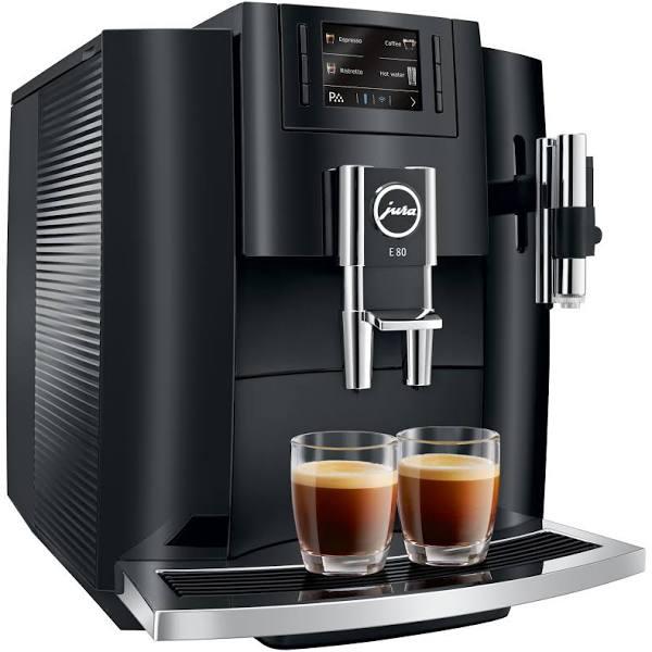 Jura E80 Piano Black espressomaskin (svart)