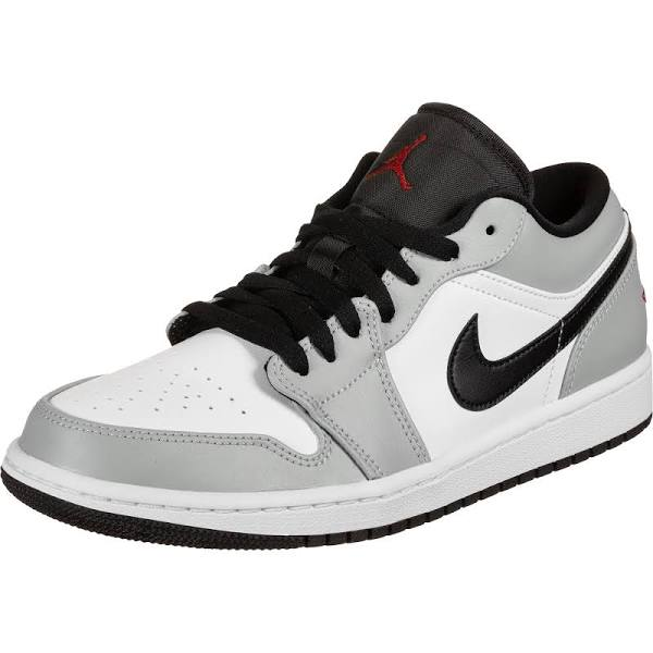 Nike Air Jordan 1 Low Light Smoke Grey Basketball Shoes/Sneakers 553558-030 (Size: US 12.5)