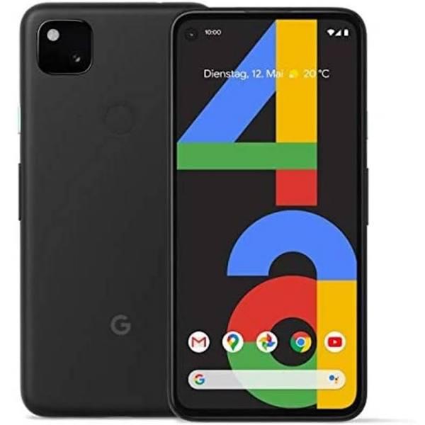 Google Pixel 4a 4G 128GB - Just Black,Mobile