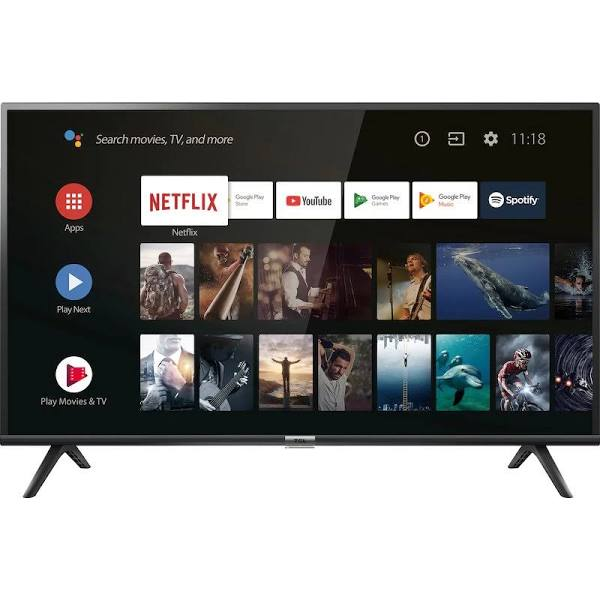 """TCL 40"""" 40ES565 - Full HD / HDR / Android TV"""