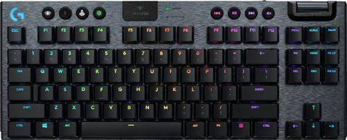Logitech - G915 Tkl Tenkeyless Lightspeed Wireless Tkl Rgb Mechanical Gaming Gl Tactile Switch Keyboard With Back Lighting - Black - 920-009495 -