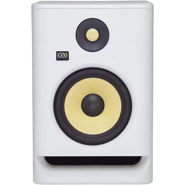 KRK ROKIT RP7 G4 Studio Monitor, White Noise