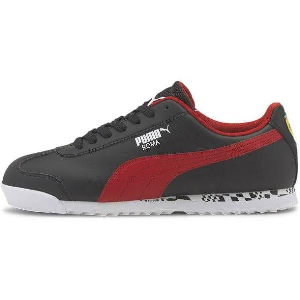 Puma Scuderia Ferrari RACE ROMA Sneakers p blkrosso corsap wht, gender.adult.male, Storlek: 42.5, Svart