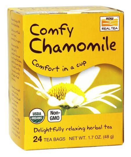 NOW Foods Organic Chamomile Tea - 24 Tea Bags