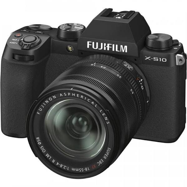 Fujifilm X-S10 + XF 18-55/2.8-4 R LM OIS, svart