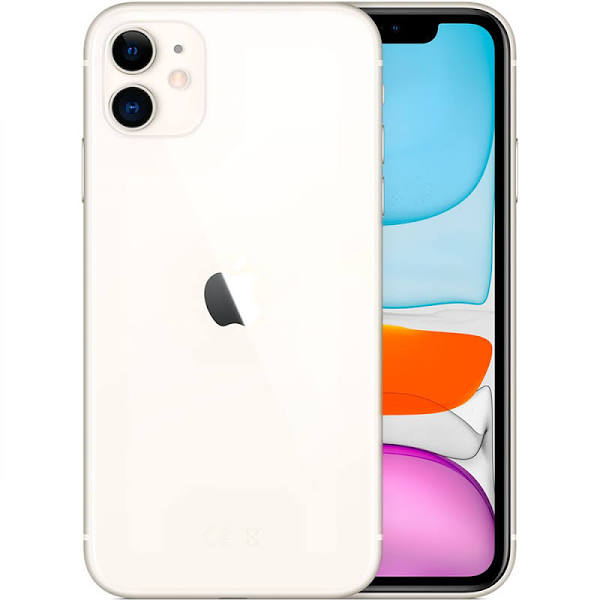 Apple iPhone 11 / 256GB - Vit