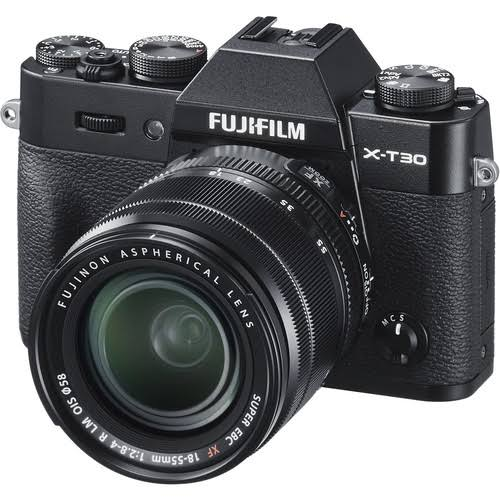 Fujifilm X-T30 Kit (XF 18-55mm f/2.8-4 R LM OIS) (Black)