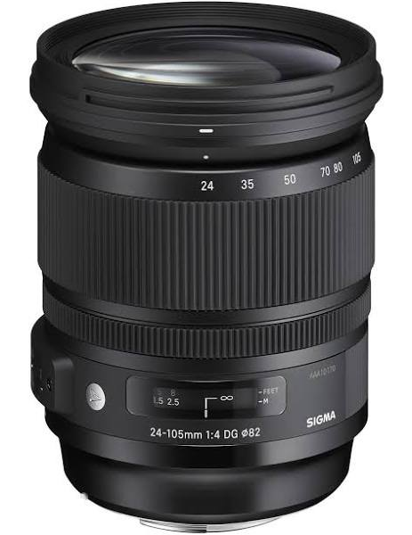 "Sigma 24-105mm F4.0 DG OS HSM ""Art"" Canon"