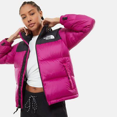 The North Face Women's 1996 Retro Nuptse Jacket Wild Aster Purple - Size: L