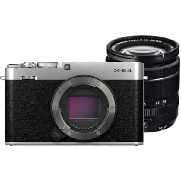 Fujifilm X-E4 Zilver + XF 18-55mm