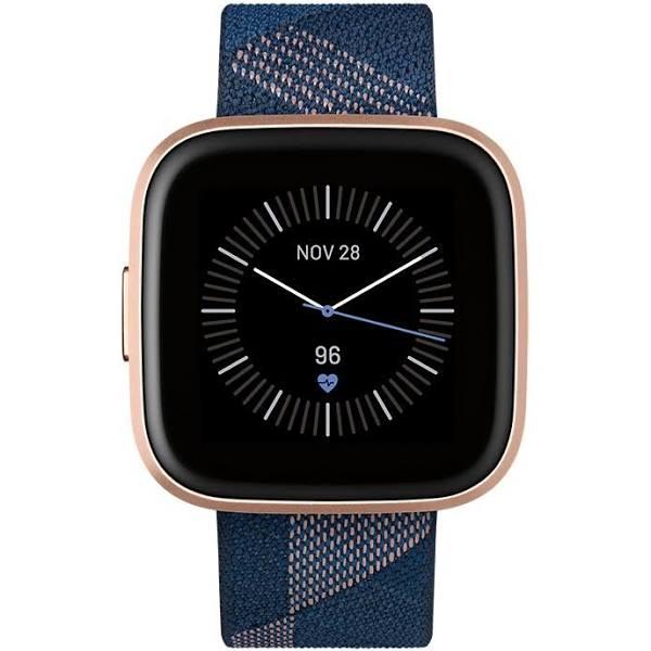 Fitbit Versa 2 SE Navy & Pink Woven