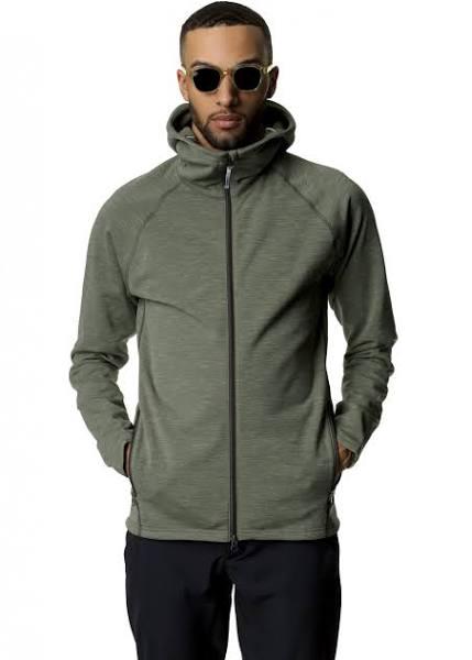 Houdini Outright Houdi Green, Mens Polartec Fleece Jacket (Size - Color Utopian Green)