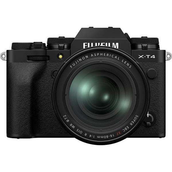 Fujifilm X-T4 + 16-80/4,0 Svart