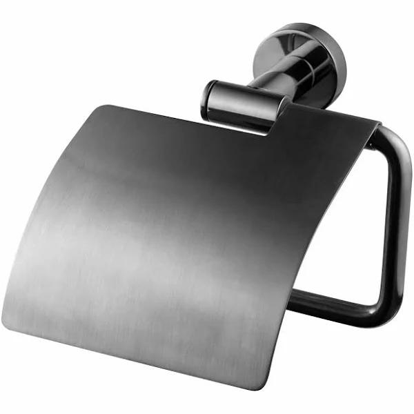 Tapwell TA236- Toalettpappershållare Black Chrome