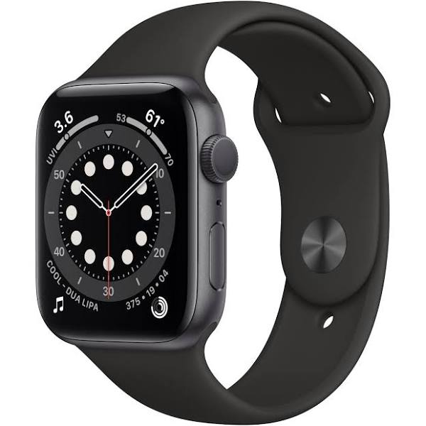 Apple Watch Series 6 GPS - 40mm Space Gray Aluminum Case with...