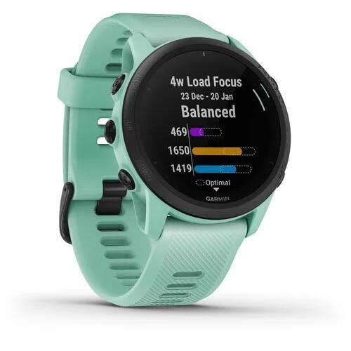 Garmin Unisex Forerunner 745 Neo Tropic Silicone Strap Digital Dial GPS Running and Triathlon Smartwatch - 010-02445-01 Red Watches