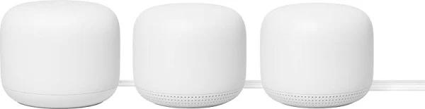 GOOGLE NEST WIFI MESH ROUTER 3-PACK