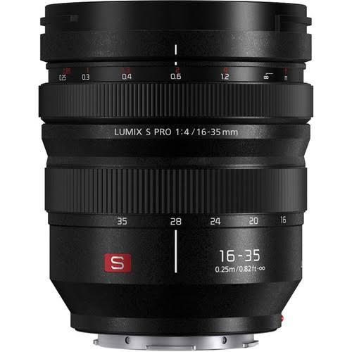 Panasonic S-R1635 Lumix S PRO 16-35mm f/4 Lens - Black