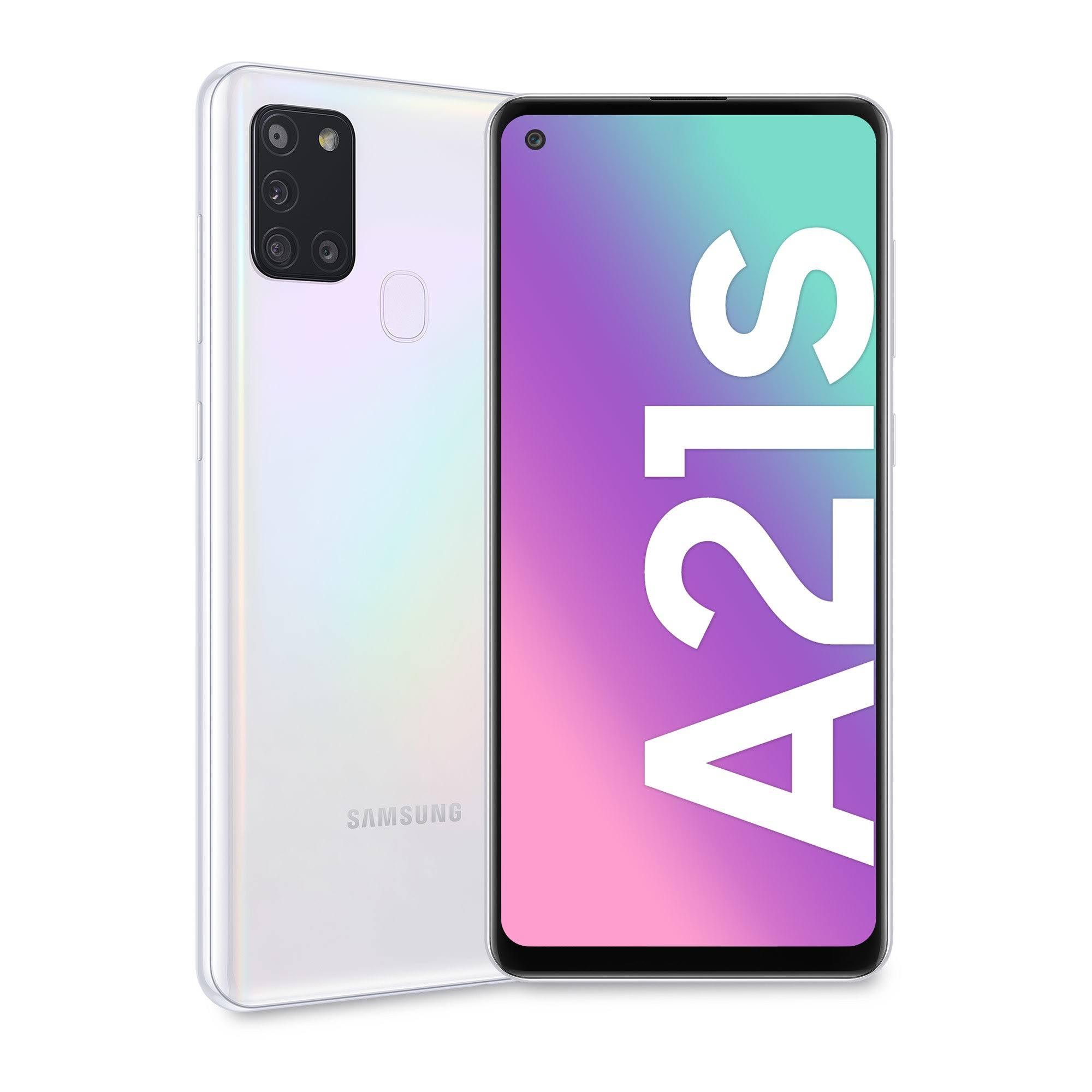 Samsung Galaxy A21s Dual SIM White 32GB and 3GB RAM (SM-A217F/DS)